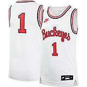 Nike Youth Ohio State Buckeyes #1 White Replica Basketball Jersey