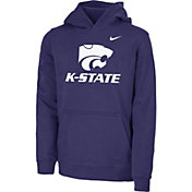 Nike Youth Kansas State Wildcats Purple Club Fleece Pullover Hoodie