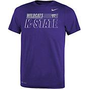 Nike Youth Kansas State Wildcats Purple Dri-FIT Legend Performance T-Shirt