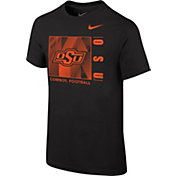 Nike Youth Oklahoma State Cowboys Core Cotton Black T-Shirt