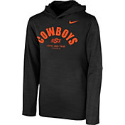 Nike Youth Oklahoma State Cowboys Black Pullover Hoodie