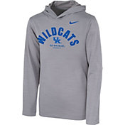 Nike Youth Kentucky Wildcats Grey Pullover Hoodie