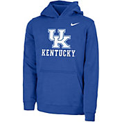 Nike Youth Kentucky Wildcats Blue Club Fleece Pullover Hoodie