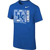 Nike Youth Kentucky Wildcats Blue Core Cotton T-Shirt