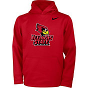 Nike Youth Illinois State Redbirds Red Therma Pullover Hoodie
