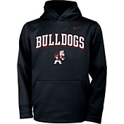 Nike Youth Alabama A&M Bulldogs Therma Pullover Black Hoodie