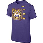 Nike Youth LSU Tigers Purple Core Cotton T-Shirt