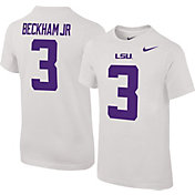 Nike Youth Odell Beckham Jr. LSU Tigers #3 White College Alumni Core T-Shirt