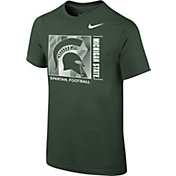 Nike Youth Michigan State Spartans Green Core Cotton T-Shirt