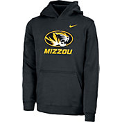 Nike Youth Missouri Tigers Club Fleece Pullover Black Hoodie
