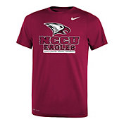 Nike Youth North Carolina Central Eagles Maroon Legend Logo T-Shirt
