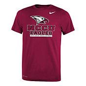 Nike Youth North Carolina Central Eagles Maroon Legend Logo T-Shirt