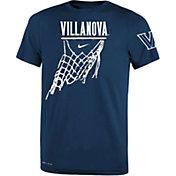 Nike Youth Villanova Wildcats White Legend Icon Performance Basketball T-Shirt
