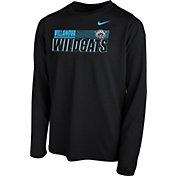 Nike Youth Villanova Wildcats Legend Long Sleeve Performance Black T-Shirt