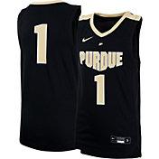 Nike Youth Purdue Boilermakers #1 Black Replica Basketball Jersey