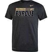 Nike Youth Purdue Boilermakers Dri-FIT Legend Performance Black T-Shirt