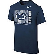 Nike Youth Penn State Nittany Lions Blue Core Cotton T-Shirt
