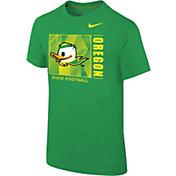 Nike Youth Oregon Ducks Green Core Cotton T-Shirt