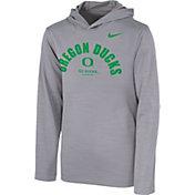 Nike Youth Oregon Ducks Grey Pullover Hoodie