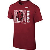 Nike Youth Arkansas Razorbacks Cardinal Core Cotton T-Shirt