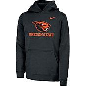Nike Youth Oregon State Beavers Club Fleece Pullover Black Hoodie