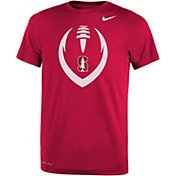 Nike Youth Stanford Cardinal Cardinal Legend Performance Football T-Shirt