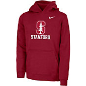 Nike Youth Stanford Cardinal Cardinal Club Fleece Pullover Hoodie