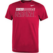 Nike Youth Stanford Cardinal Cardinal Dri-FIT Legend Performance T-Shirt