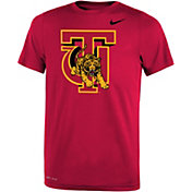 Nike Youth Tuskegee Golden Tigers Crimson Legend Performance T-Shirt