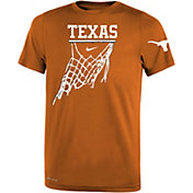Nike Youth Texas Longhorns White Legend Icon Performance Basketball T-Shirt