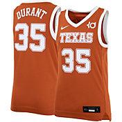 Nike Youth Kevin Durant Texas Longhorns #35 Burnt Orange Replica Basketball Jersey