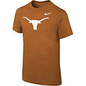 Nike Youth Texas Longhorns Burnt Orange Core Cotton T-Shirt