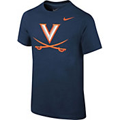 Nike Youth Virginia Cavaliers Blue Core Cotton T-Shirt