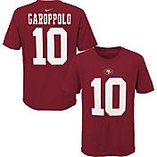 NFL Team Apparel Youth San Francisco 49Ers Jimmy Garoppolo #85 Red Player T-Shirt