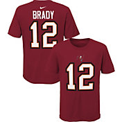 Nike Youth Tampa Bay Buccaneers Tom Brady #12 Red T-Shirt
