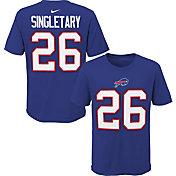 NFL Team Apparel Youth Buffalo Bills Devin Singletary #85 Royal Player T-Shirt