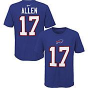 NFL Team Apparel Youth Buffalo Bills Josh Allen #85 Royal Player T-Shirt