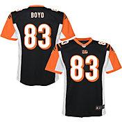 NFL Team Apparel Youth Replica Cincinnati Bengals Tyler Boyd #83 Jersey