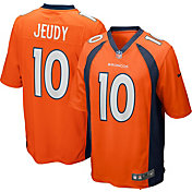 Nike Youth Denver Broncos Jerry Jeudy #10 Home Orange Game Jersey