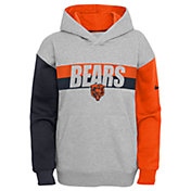 Nike Youth Chicago Bears Grey Heritage Pullover Hoodie