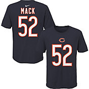 NFL Team Apparel Youth Chicago Bears Khalil Mack #85 Navy Player T-Shirt