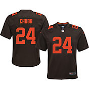 Nike Youth Cleveland Browns Nick Chubb #24 Alternate Game Jersey