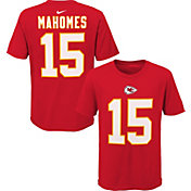 Nike Youth Kansas City Chiefs Patrick Mahomes #15 Red Player T-Shirt