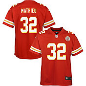 Nike Youth Kansas City Chiefs Tyrann Mathieu #32 Home Red Game Jersey