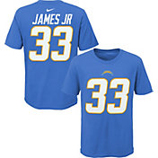 NFL Team Apparel Youth Los Angeles Chargers Derwin James Jr. #85 Blue Player T-Shirt