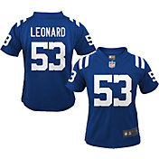 Nike Boys' Indianapolis Colts Darius Leonard #53 Blue Game Jersey