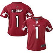 NFL Team Apparel Youth 4-7 Replica Arizona Cardinals Kyler Murray #1 Red Jersey