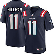 Nike Youth New England Patriots Julian Edelman #11 Navy Game Jersey