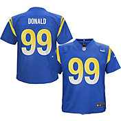 NFL Team Apparel Youth 4-7 Replica Los Angeles Rams Aaron Donald #99 Royal Jersey