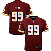 Nike Youth Washington Football Team Chase Young #99 Home Red Game Jersey